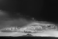 Thunderhead over mt jefferson Oregon_k3d1214_x1550_BW