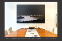 Corporate Art installation_Video Conference Room_Moonlight Richardson Bay_Irvine Fd_San Francisco