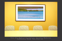 Healthcare slideshow installation_conference rooms_PA_egret