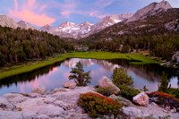 Sunset and Heart Lake_John Muir Wilderness_Inyo National Forest_Sierra Nevada Mountains_California_USA_Rob Badger