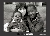 Black and White People