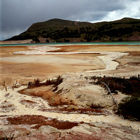 Tailings Pond, Climax Mine, White River National Forest, Colorado